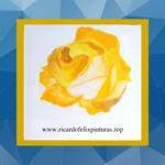 Imagem papel de parede Flôr amarela Smartphone